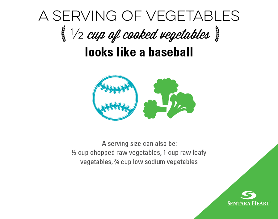 serving of vegetables